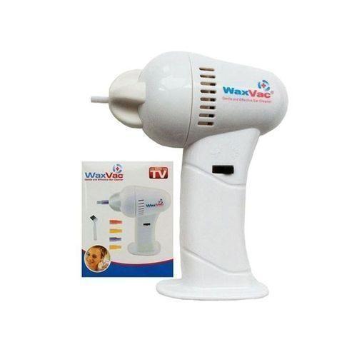 Vacuum Cordless Ear Cleaner - White