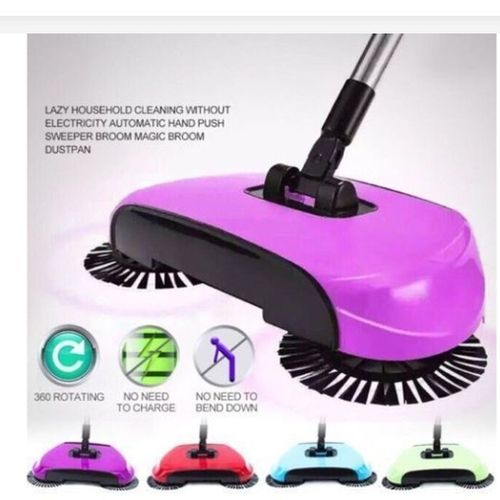 Magic Sweeper- 360 Degree Rotate- Multicolour