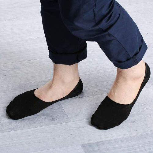 Low Cut (No Show) Ankle Socks -Black