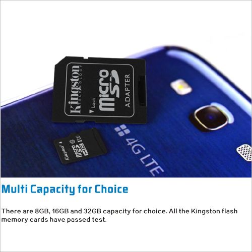 Kingston Class 10 8GB 16GB 32GB MicroSDHC TF Flash Memory