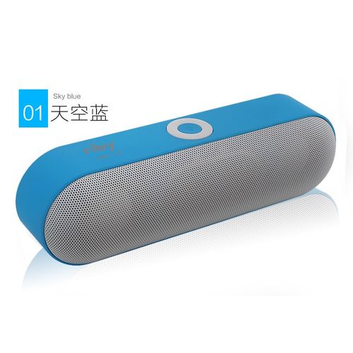 New NBY-18 Mini Speaker Portable Speaker Sound System 3D Stereo Music Surround Support ,TF AUX USB(BLUE) CUIRO