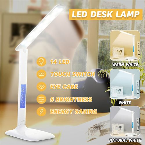 Table Lamp With Display Australian Regulations 14led 5050smd 4W