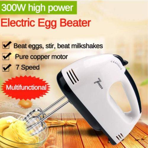Electric Hand Mixer Whisk Egg Beater Cake Baking Mixer Tool