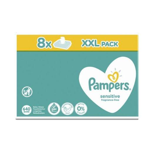 Baby Wipes 8 X 80 XXL (640count) (UK)