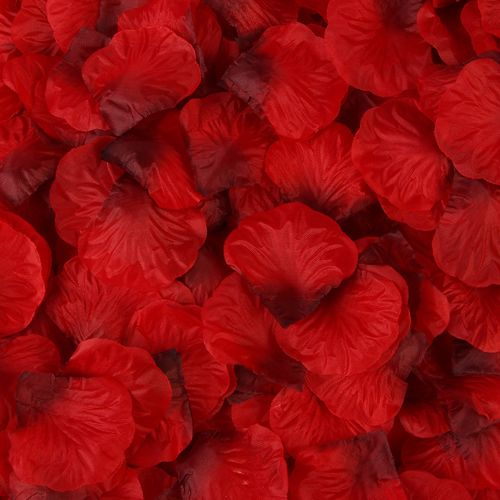 1000 PCS Artificial Rose Petals Wedding Flowers Multi