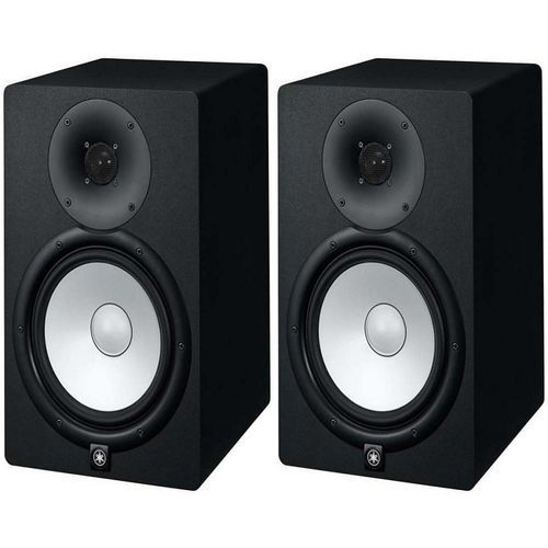 Yamaha Pair Of HS8 Large Powered Studio Recording Monitor Speaker
