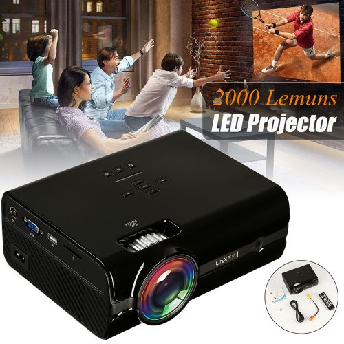 7 Types 7000 Lumens 1080P HD Projector 3D LED Android WiFi USB Theater Cinema ?Australian Regulations?
