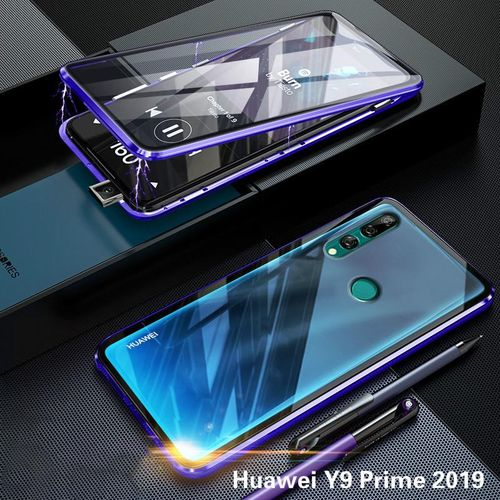 Case For Huawei Y9 Prime 2019 Slim Tempered Glass Casing