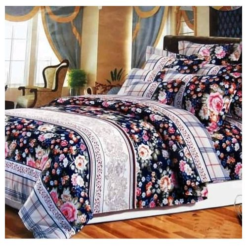 Quality Bedsheet With Four Pillow Case