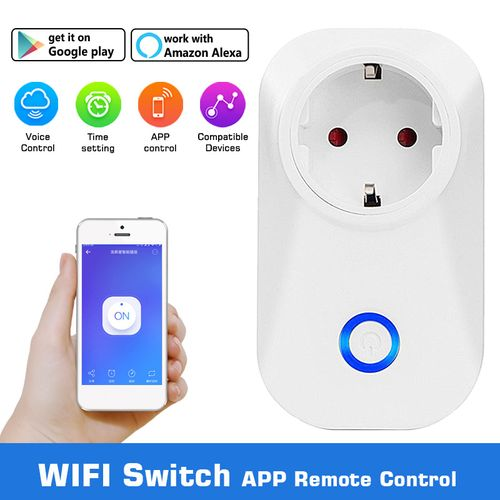 Remote Control Home WiFi Smart Power Timer Switch