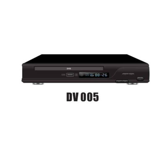 DVD Player DV005 With USB-Black