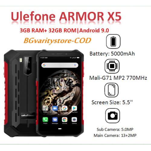 Ulefone Armor X5 NFC IP68 IP69K Waterproof 3GB RAM+ 32GB ROM