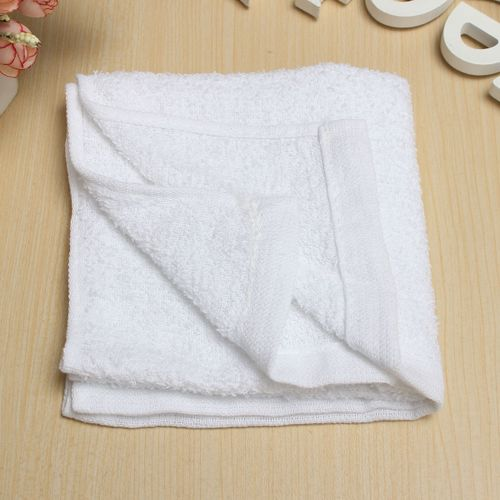 1PCS Fast Drying White Cotton Hotel FACE HAND BATH Towels