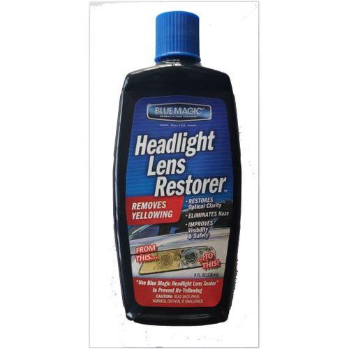 Bluemagic Headlight Lens Restorer - 8 Oz