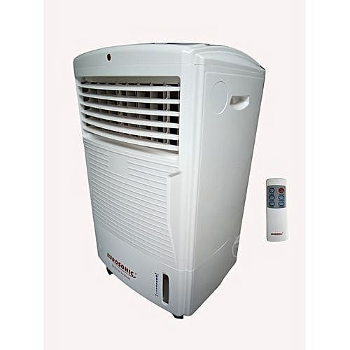 Electric Mobile Air Cooler With Wheels + Remote Control
