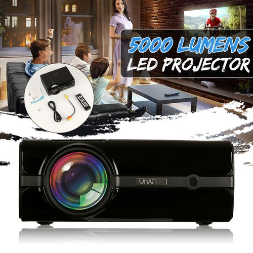 7 Types 7000 Lumens 1080P HD Projector 3D LED Android WiFi USB Theater Cinema US?European Regulations?