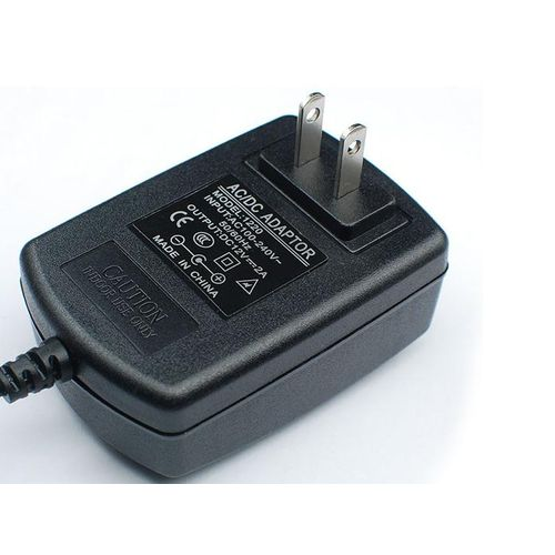 US Standard Power Adapter Power Supply Charger 12V2A - Black