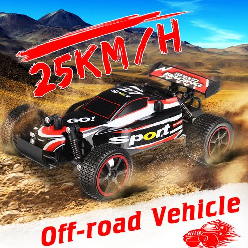 RC Car Model Toy Emulation Remote Control Off Road LED Truck Buggy
