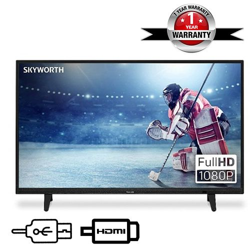 """40"""" LED HD With Stereo Audio TV"""