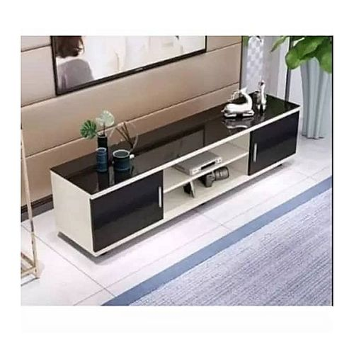 Allan Glass Top TV Stand - 5ft (Delivery Within Lagos,Ogun And Oyo Only)