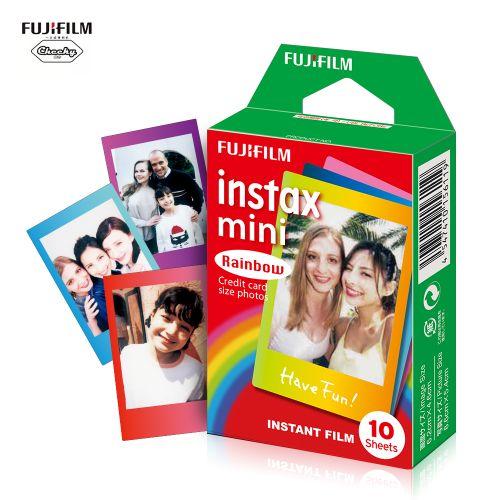 Fujifilm Instax Mini 10 Sheets Colorful Rainbow Film Photo