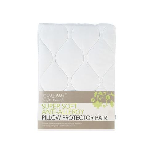NEUHAUS Super Soft Anti-Allergy Pillow Protector Pair