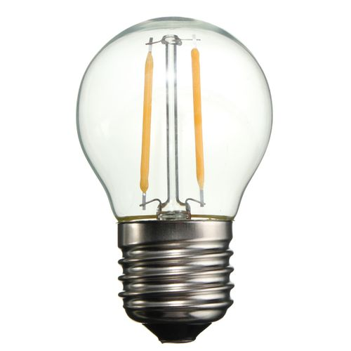 E27 2W COB LED Edison Retro Filament Bulb Candle Light G45/A60/ST64 Lamp