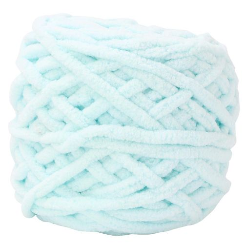 Chunky Yarn Knitting Thick Yarn Soft Colorful Braid Line Single Thick Ice Strip Yarn Floss For Weave Blanket Slipper