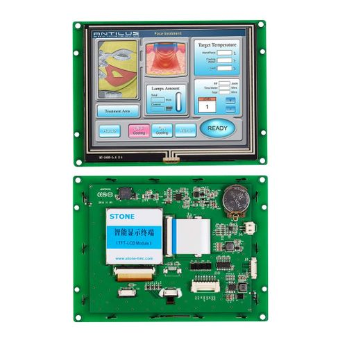 "Programmable Touch Panel 5.6"" TFT LCD With Controller Board"