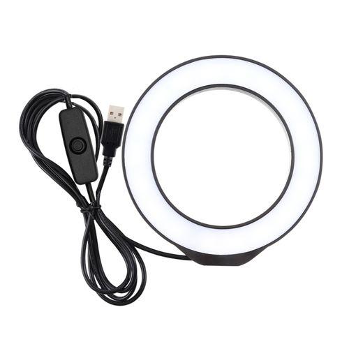 4.7 Inch White Light LED Ring Vlogging Video Lights