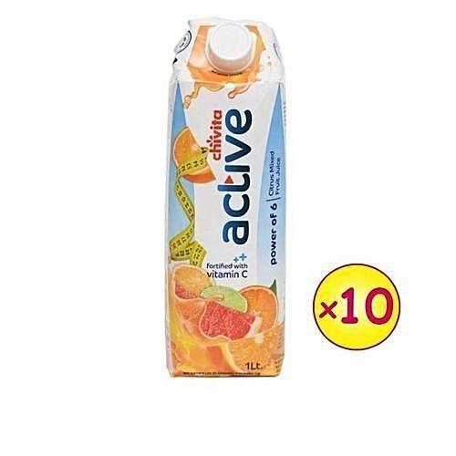 Chivita Active - Power Of 6 Citrus Fruits (1LTR X 10 PCS)