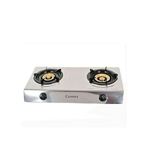 Century Stainless Steel Auto Ignition Table Top Gas Stove