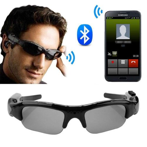 Smart Sunglasses Camera Eyewear Music Glasses Support TF Card Video Recorder DVR DV MP3 Camcorder JY-M