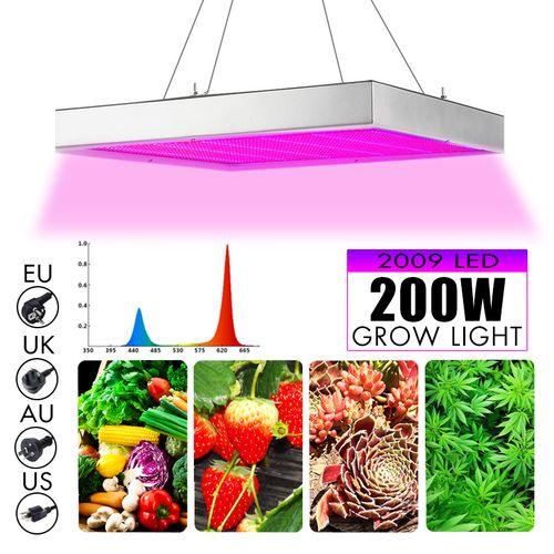 2000W LED Grow Light Full Spectrum Hydroponics Medical S Veg Bloom