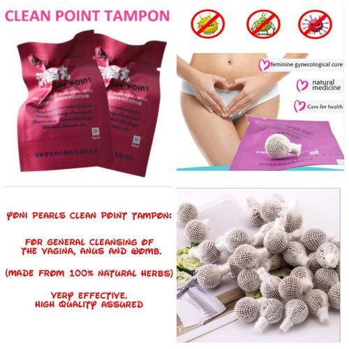 High Quality Medicated Yoni Pearls For Discharge, Infection And Fibroid (3 Pieces)