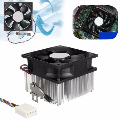 12V 4 PIN PWM CPU Cooler Fan Copper Core Aluminium Heatsink For AMD PC Computer