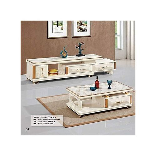 Modern Home TV Stand And Center Table (Prepaid Payment Only)
