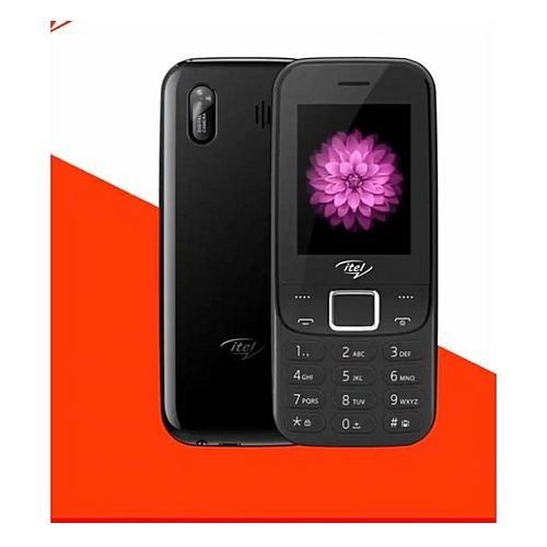 5081 Triple SIM, Slim Body, Facebook, Wireless FM Phone - Black
