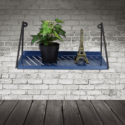 Metal Garden Flower Pot Wall Rack Storage Floating Shelf Unit Display Organizer