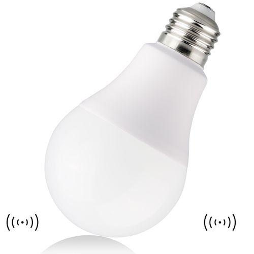 LED Sensor Light E27 7W Human Motion Sensor Bulb-White Light