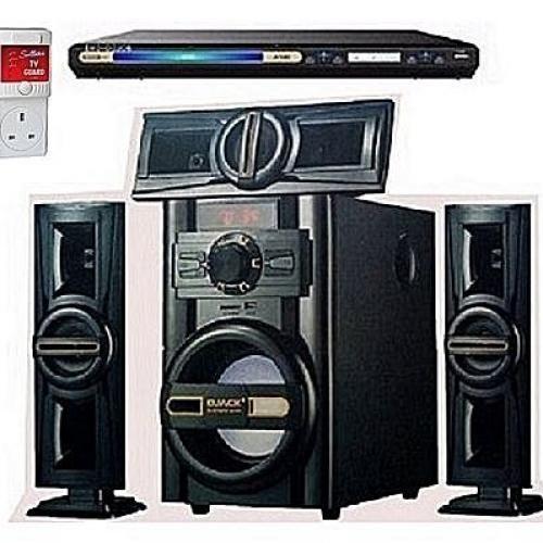 Dj-503 Bluetooth Home Theater System+DVD Player+Power Surge