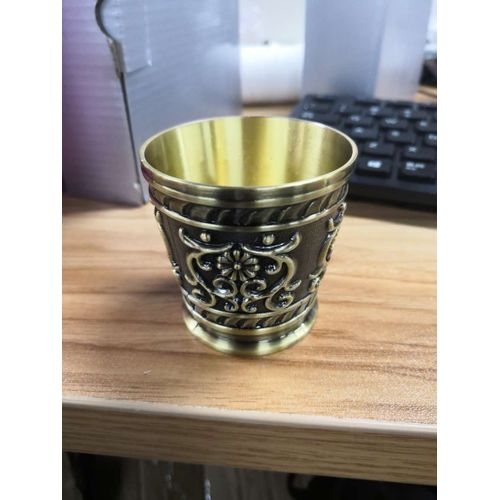 Beautiful Vintage European Style Wine Cup Durable Pure Copper Cup Water Tea Wine Coffee For Home Office Use