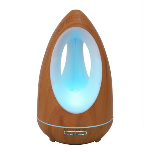 550ml Ultra Quiet Cool Mist Humidifier Essential Oil Diffuser With Remote Control
