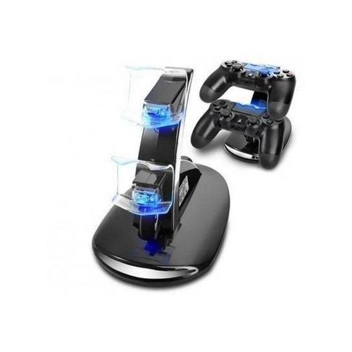 PS4 Controller Charger Dual USB Charging Station Dock Controller Charger.