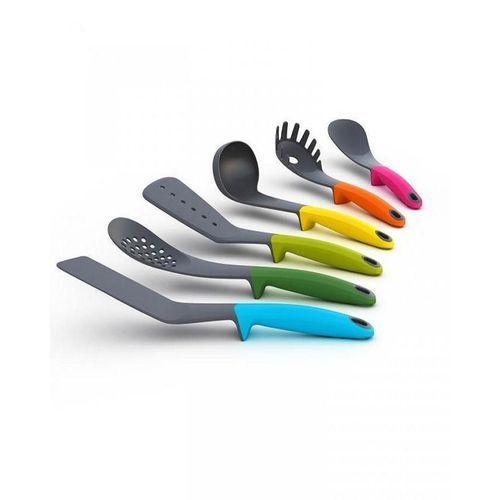 6 Pcs Multicolour Non Stick Kitchen Spoons