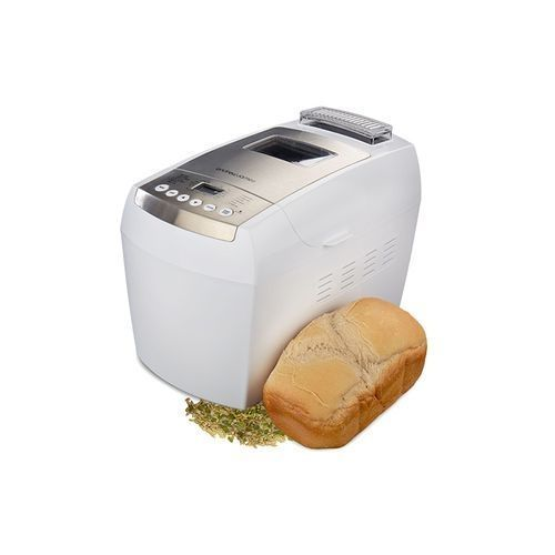 Excellent Dual Blade Bread Maker LCD Display - White