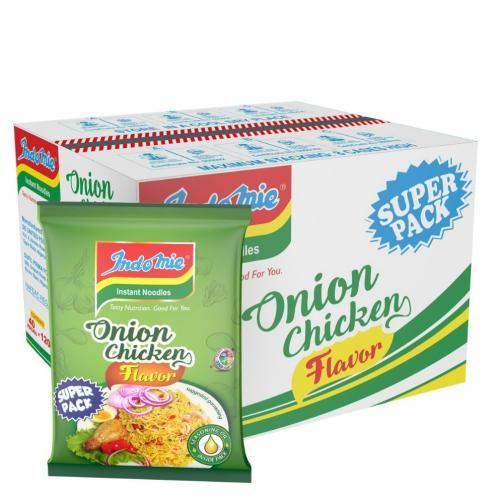 SUPER PACK INDOMIE ONION CHICKEN- 120g (1 Carton)
