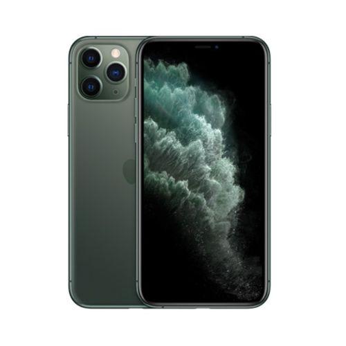 IPhone 11 Pro Max 6.5-Inch Super Retina XDR OLED (4GB RAM, 512GB ROM),iOS 13, (12MP+12MP+12MP)+12MP 4G LTE Smartphone - Midnight Green