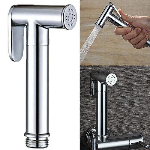 Toilet Bathroom Hand Held ABS Bidet Shower Head Diaper Spray Sprayer Shattaf