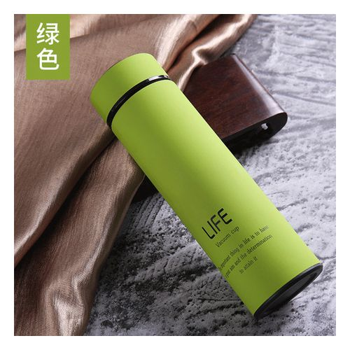 LIFE Vacuum Cup Stainless Steel Water Bottle - Green